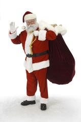 Full Santa Waving