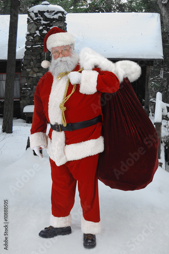 Full Santa Outside