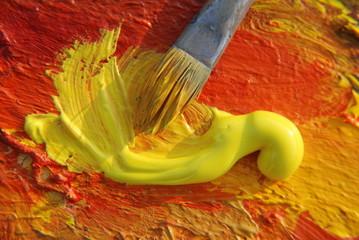 Ölfarbe