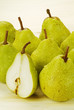 Group of Fresh Ripe Pears