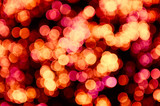 abstract bokeh - perfect christmas background poster