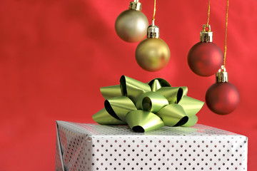Gift package and christmas hangings