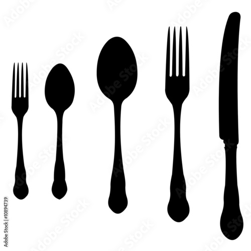 Fork Knife Vector Free Download Spoon Knife And Fork Vector