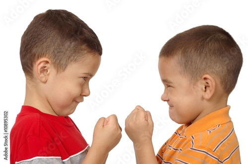 boys fighting 5 and 6 years old