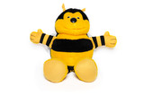 The plush bee poster