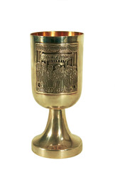 A goblet for passover(isolated).