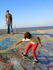 Skate park boys