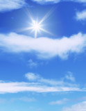 great blue sky