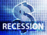 Recession Finance illustration poster