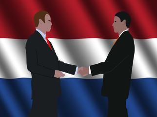 Dutch business meeting