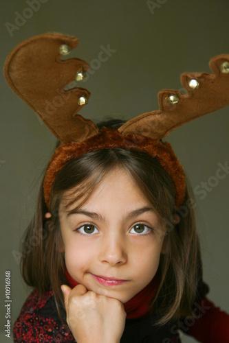 petit renne au sourire en coin