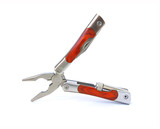Multifunctional tool on white poster
