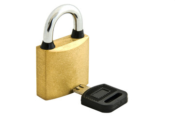 Lock and Broken Key