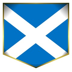 drapeau ecusson ecosse scotland flag