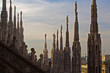 From the roof of the Duomo, Milan