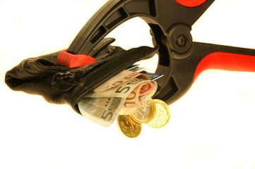 Credit crunch. Euros