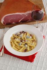 Penne speck e gorgonzola dolce - Primi piatti del Veneto