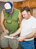 Contractors Check Plans poster