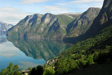 Mirror of the fiord