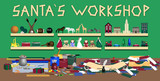 Santas Workshop poster