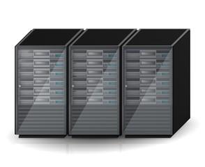 Server Hoster Racks 3D