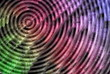 Hypnotic 3D background