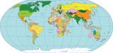 Fototapety Map of world
