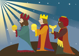 three Magi; three kings