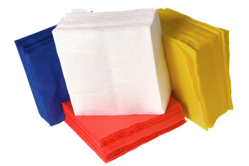 disposable paper napkins