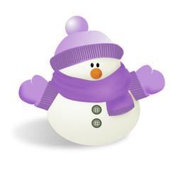 snowman 2morado