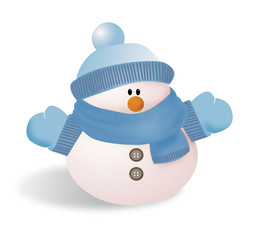 snowman 2azul