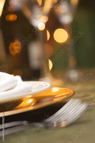 Elegant Dinner Setting - 10967947