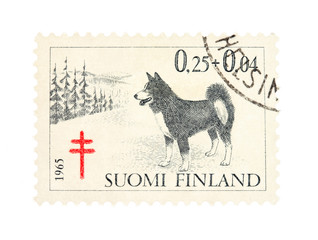Stamp from Finland