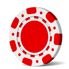 Vector poker chip