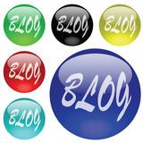 boutons blog poster