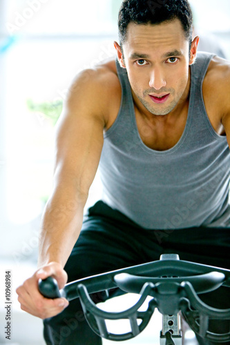 gym man exercising