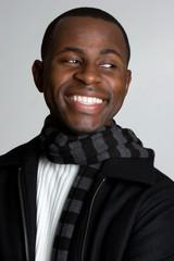 Smiling Winter Man
