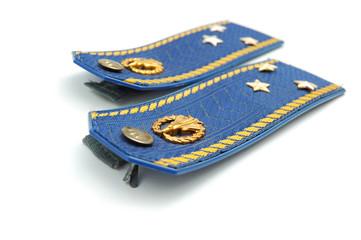 Shoilder strap of Ukrainian senior lieutenant (sky force)