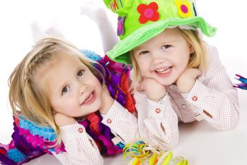 twins celebrating birthday