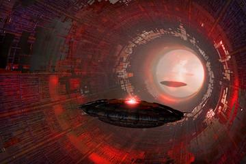 ufo tunnel