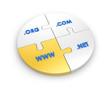 WWW, com, net, org.