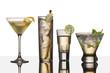 Leinwandbild Motiv vodka drinks