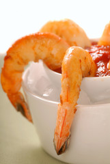 Sauted Shrimp Cocktail