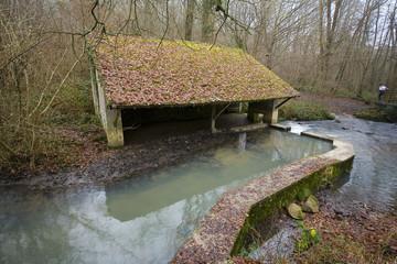 france; vallée de chevreuse : lavoir