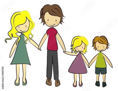Collection de la famille libre inceste