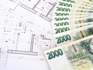 Money - Czech crowns and plans