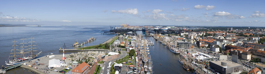 Bremerhaven, Germany,  Panorama