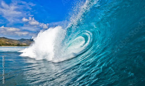 Deurstickers Water Perfect Wave