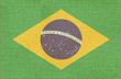 flag of brazil - canvas version