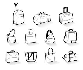 maletas de viaje, trolley